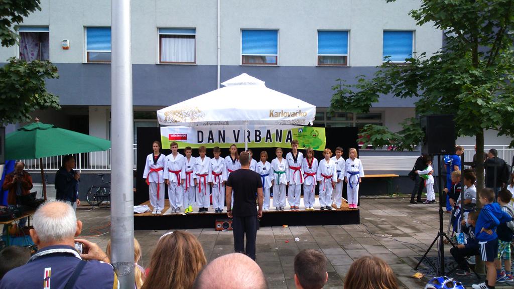 Demonstracija TKD Activ – Dani Vrbana